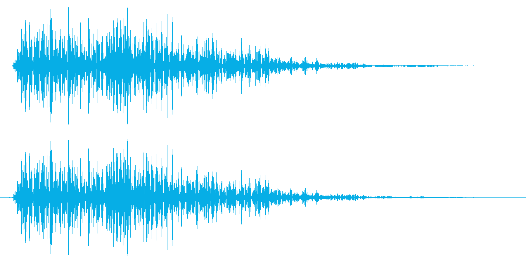ドラゴン モンスター ダメージ 弱の再生済みの波形