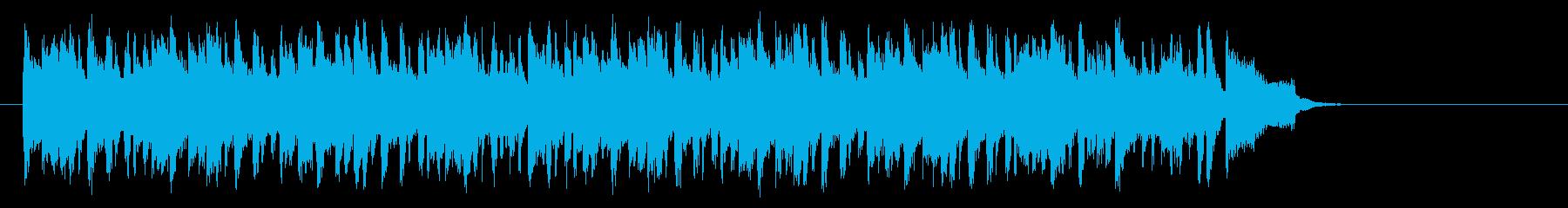 清々しい店内向けポップス(サビ~イン…)の再生済みの波形