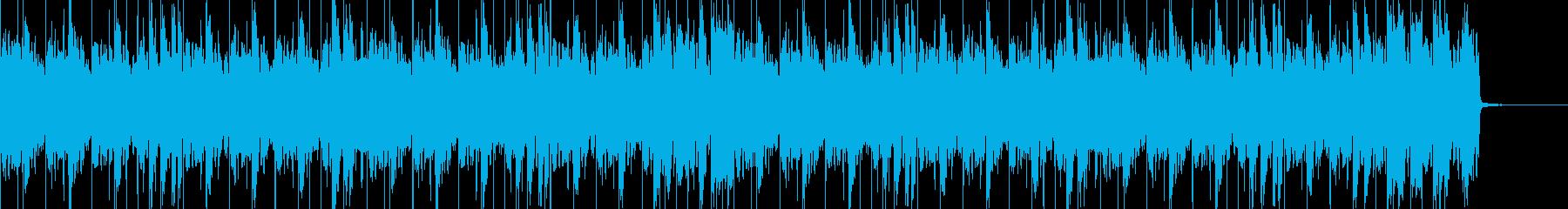 ディスコ風なジングルの再生済みの波形