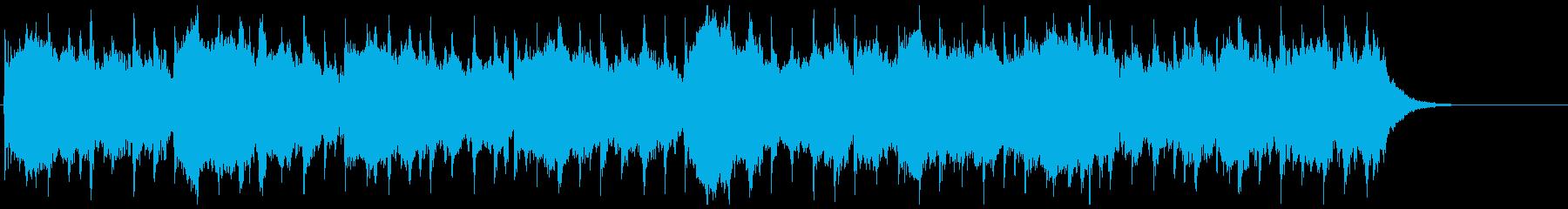 奇妙な音楽(民族的な宗教的な)の再生済みの波形