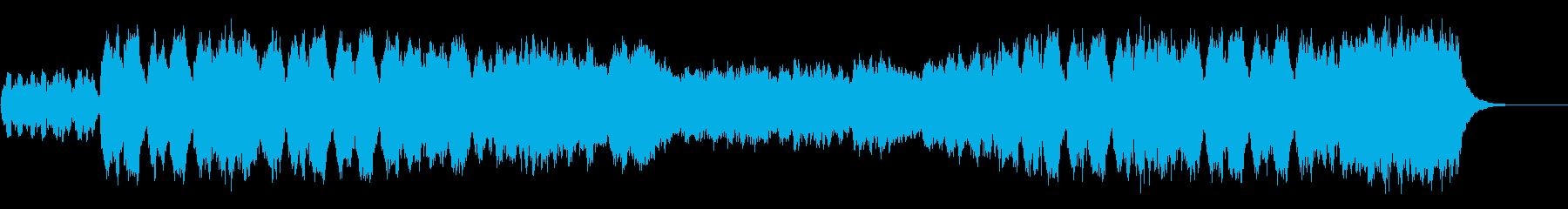 婚礼の合唱(ワーグナー)/パイプオルガンの再生済みの波形