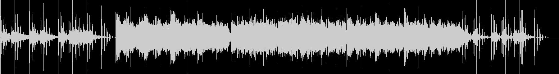 オルガンとストリングスのバラードポップスの未再生の波形