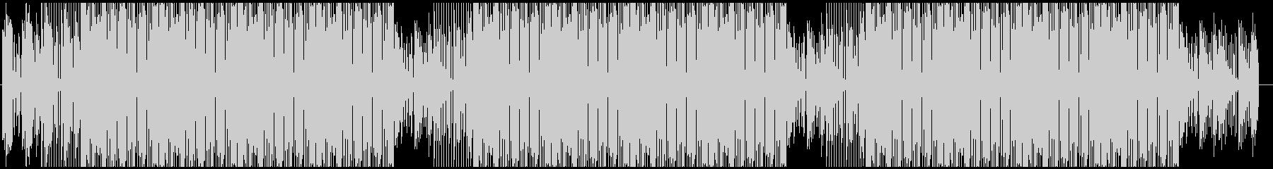 ファッショナブルなハウスミュージックの未再生の波形