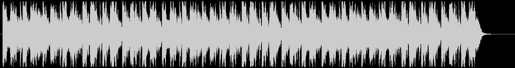 オープニング風ファンタジー系BGMの未再生の波形