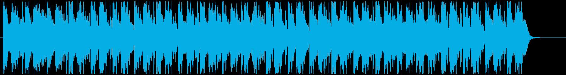 オープニング風ファンタジー系BGMの再生済みの波形