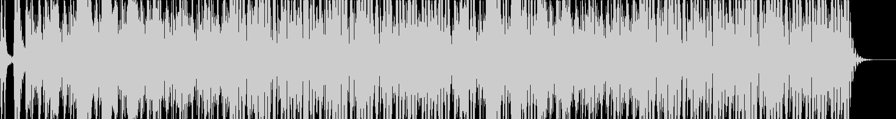 大きな犬と小さな犬の鳴き声を使ったBGMの未再生の波形