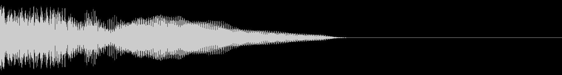 テロップ、予告系の未再生の波形