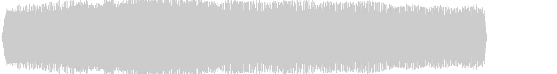 ぶー(バイブ音)の未再生の波形