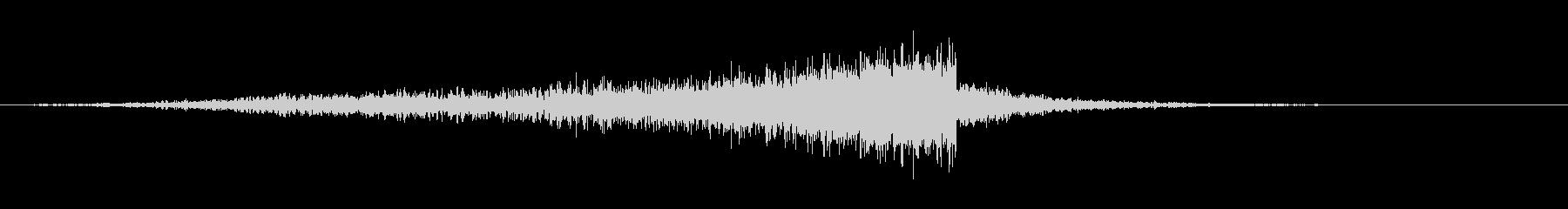 ロングスクレーピングリボルブフーシの未再生の波形