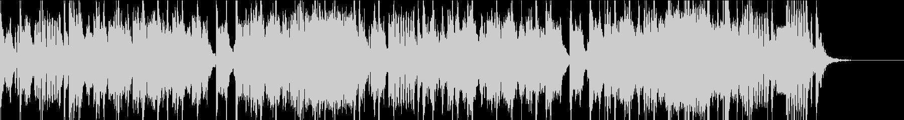 低音がズシンとくる登場音楽の未再生の波形