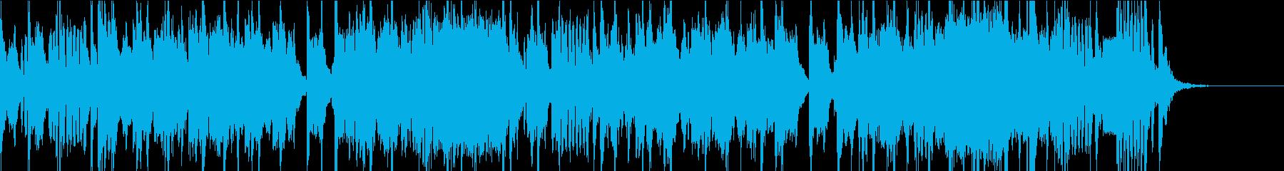 低音がズシンとくる登場音楽の再生済みの波形