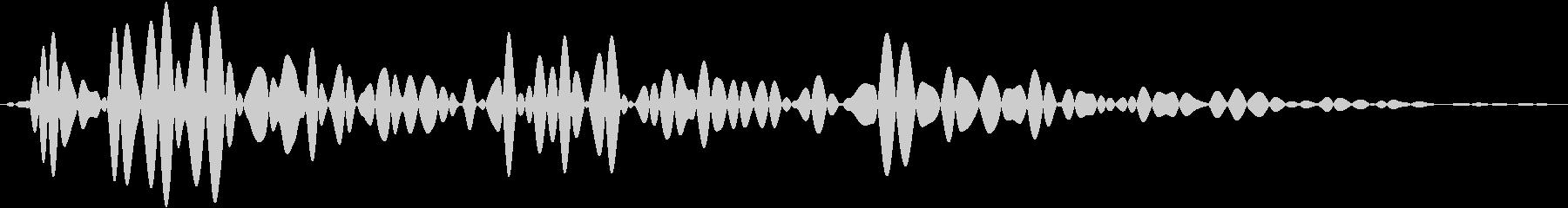 小規模爆発またはモルタル爆風:低周...の未再生の波形