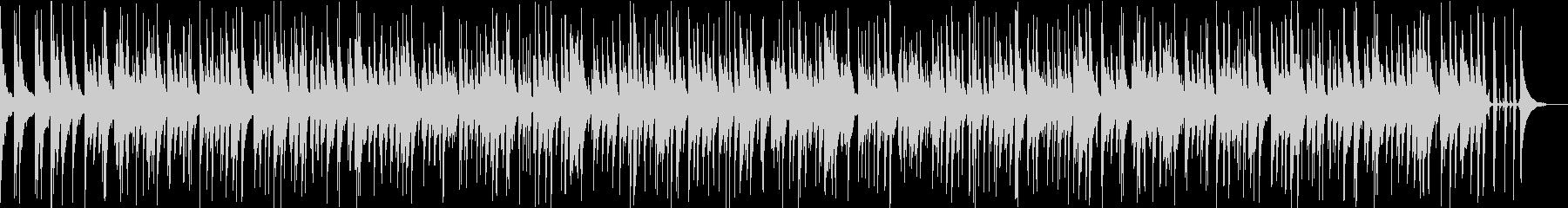 「ひいらぎかざろう」ジャズアレンジカバーの未再生の波形