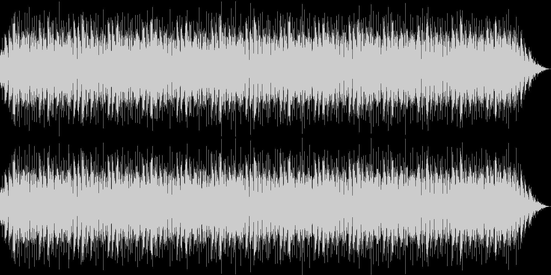 追跡、ニュースのBGMの未再生の波形