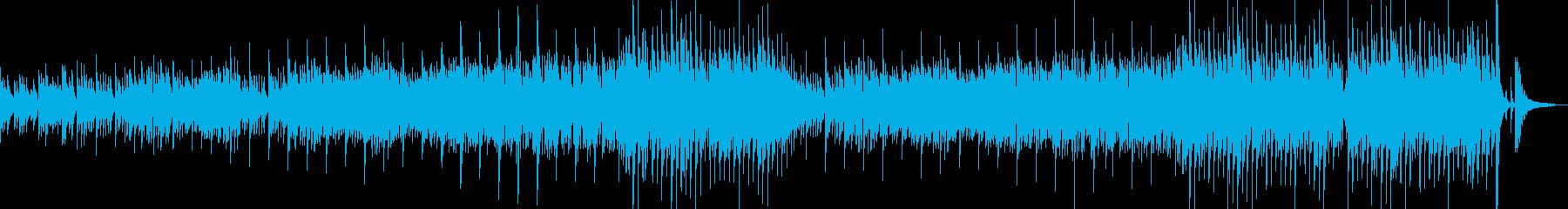 アトリエをイメージした曲の再生済みの波形