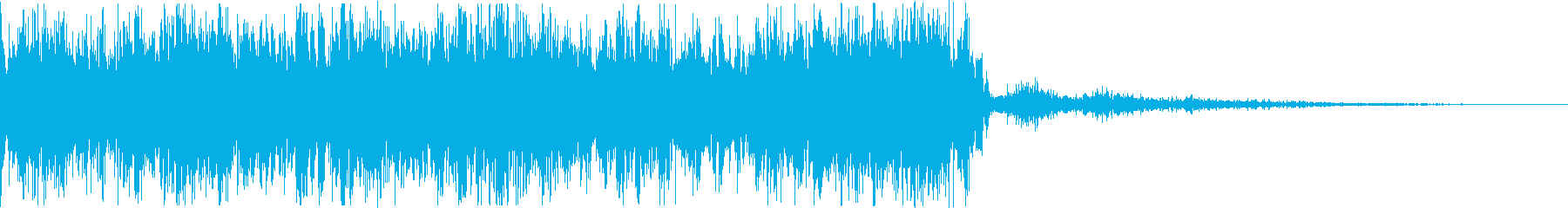 【JG】緊迫感のあるジングル02の再生済みの波形