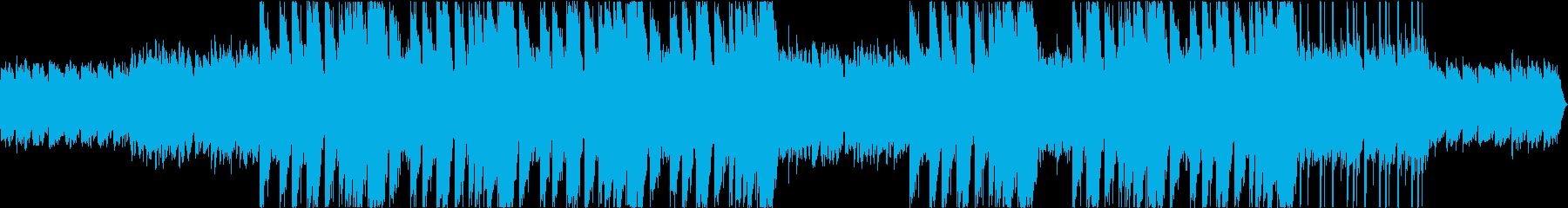 切ないゆったり系トラップビートの再生済みの波形