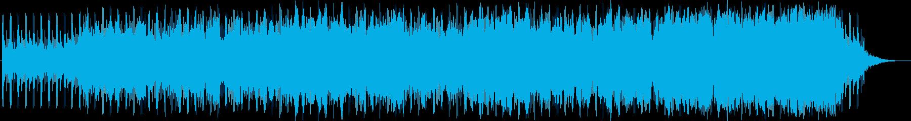 戦いの序曲の再生済みの波形