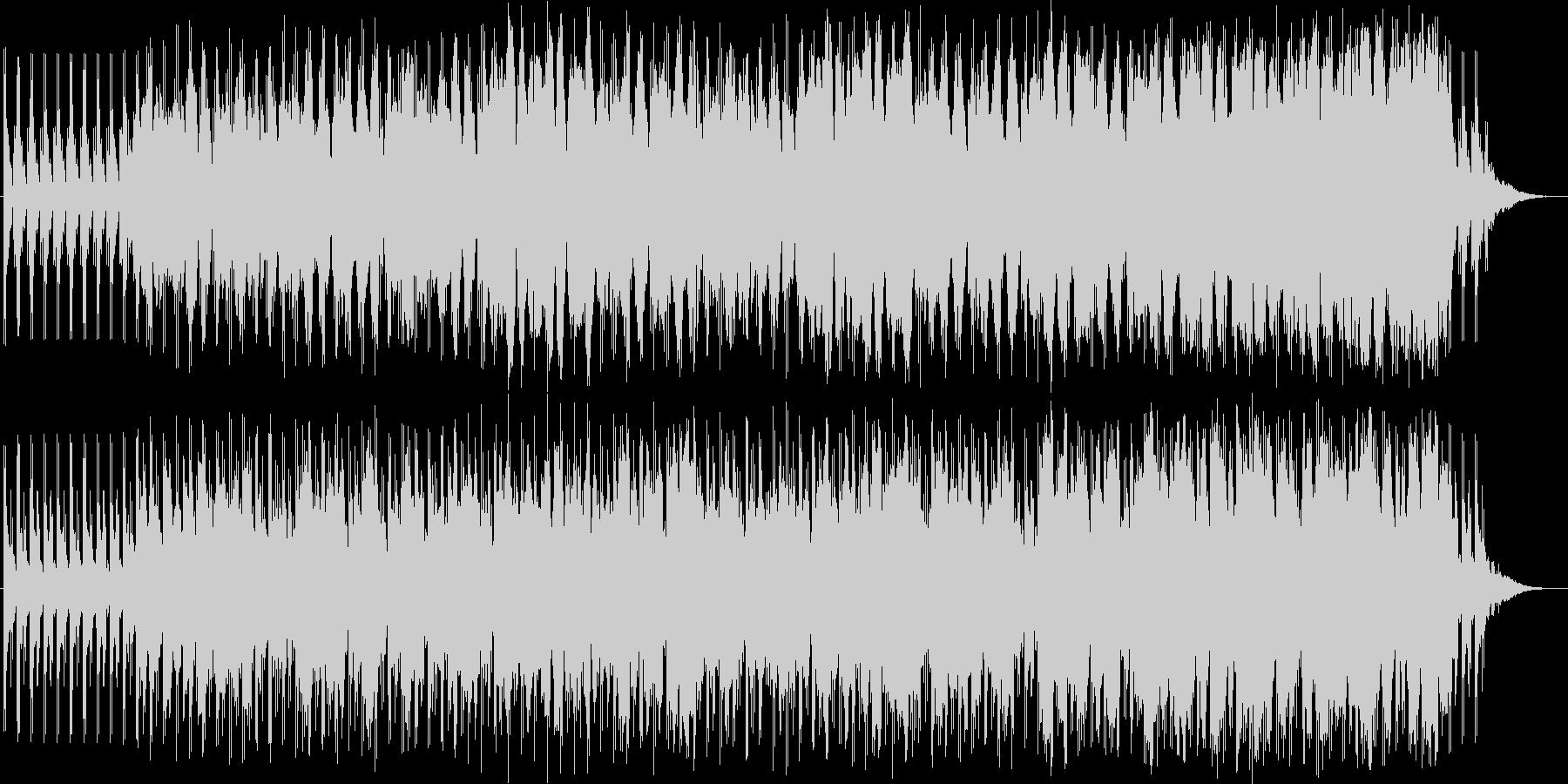 戦いの序曲の未再生の波形