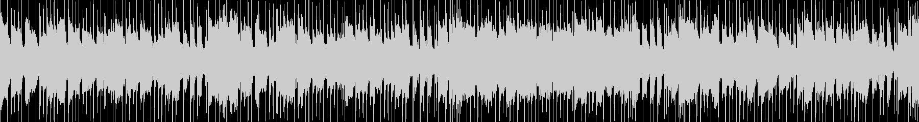 明るいコンテンツ向けポップ ループBGMの未再生の波形