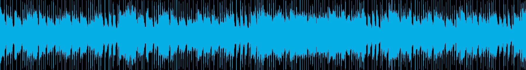 明るいコンテンツ向けポップ ループBGMの再生済みの波形