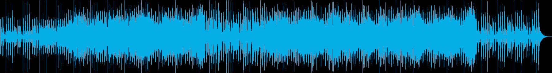 ポップなメロディでうきうき踊りたくなるaの再生済みの波形