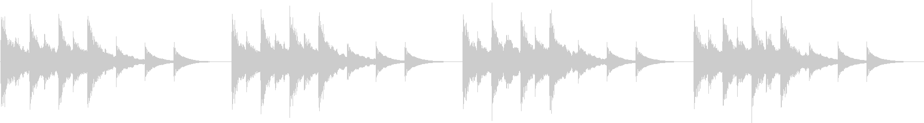 Jingle perfect for phone ringtones and alarms's unreproduced waveform