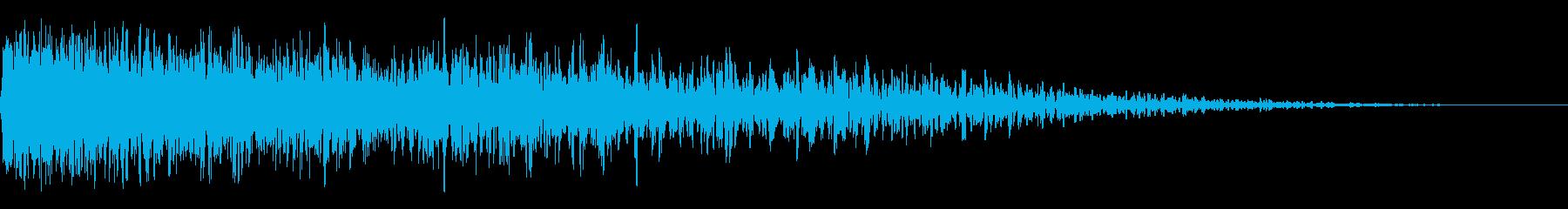 ビッグブーマーインパクト3の再生済みの波形