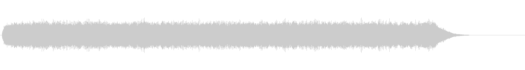 レーザーハーシュサウンドラウドデジタルの未再生の波形