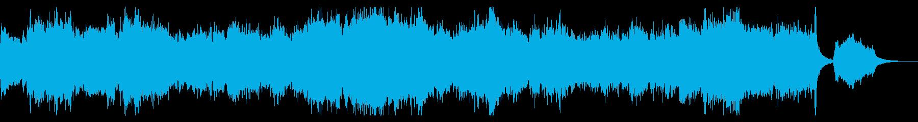 始まりを予感させる広大なサウンドの再生済みの波形