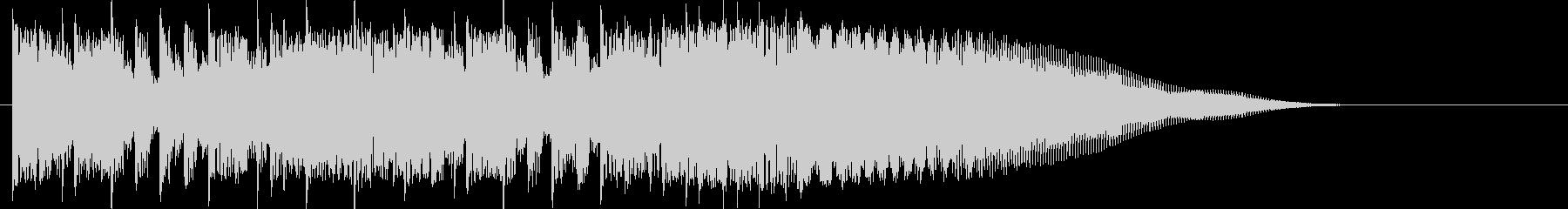 カントリー風ギターイントロ-02の未再生の波形