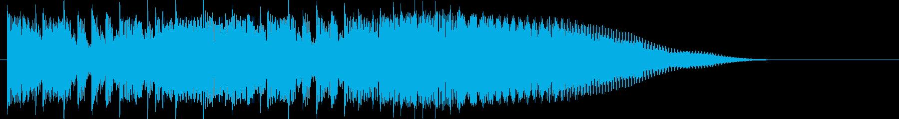 カントリー風ギターイントロ-02の再生済みの波形