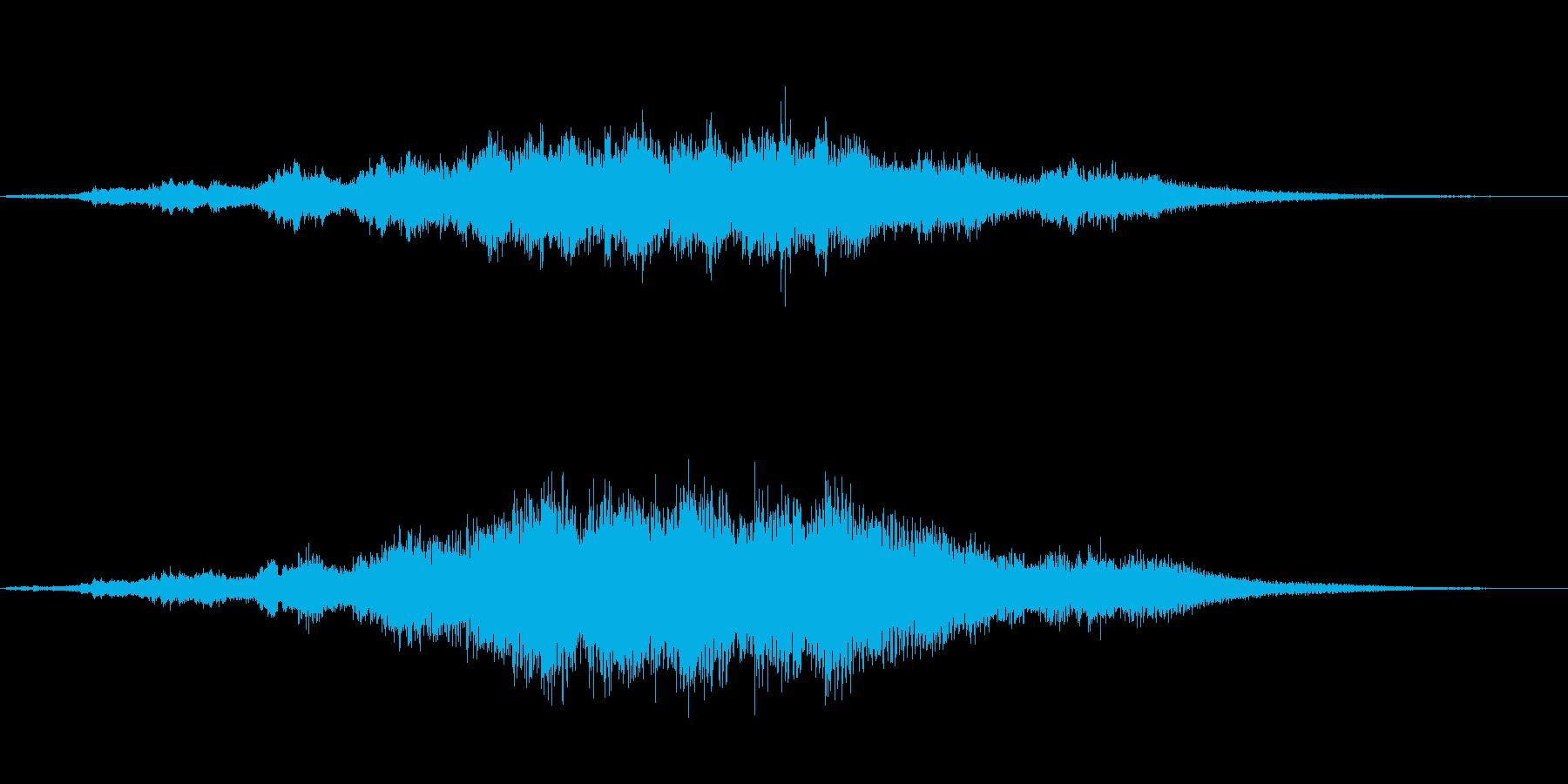 優雅な和風サウンド琴のマルチフレーズFXの再生済みの波形