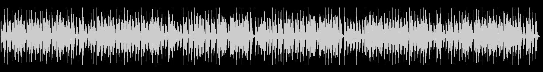陽気な酒場のホンキートンクピアノの未再生の波形