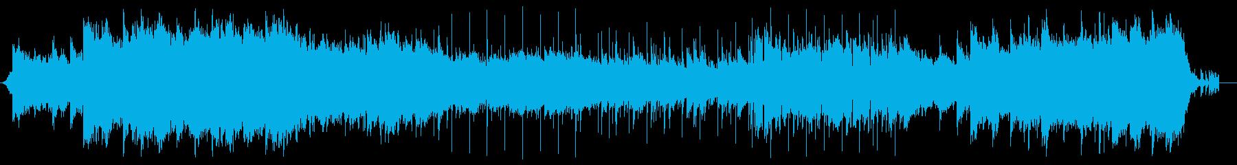 ソフトダーク系なサウンド夜明け前の暗さの再生済みの波形