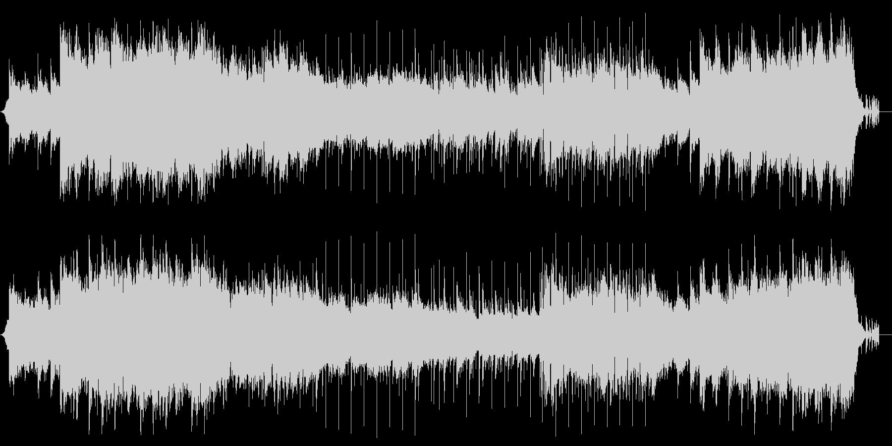 ソフトダーク系なサウンド夜明け前の暗さの未再生の波形