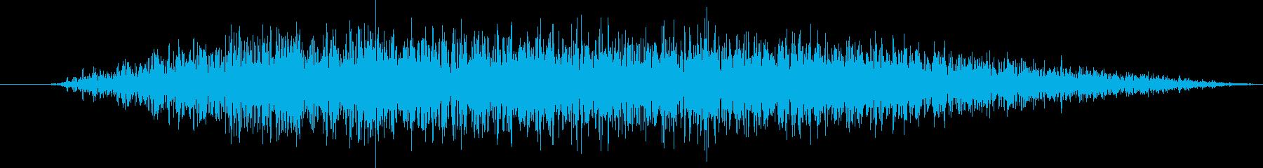 火炎放射器:ショートバースト、火炎放射器の再生済みの波形