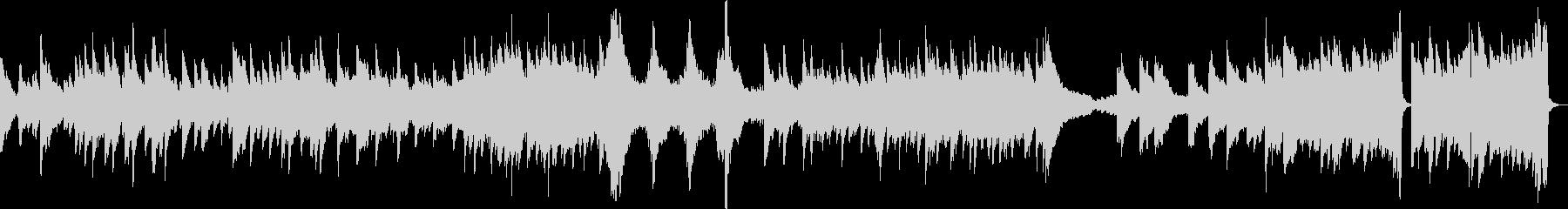 刻々と迫る危機(ピアノ、緊迫)の未再生の波形