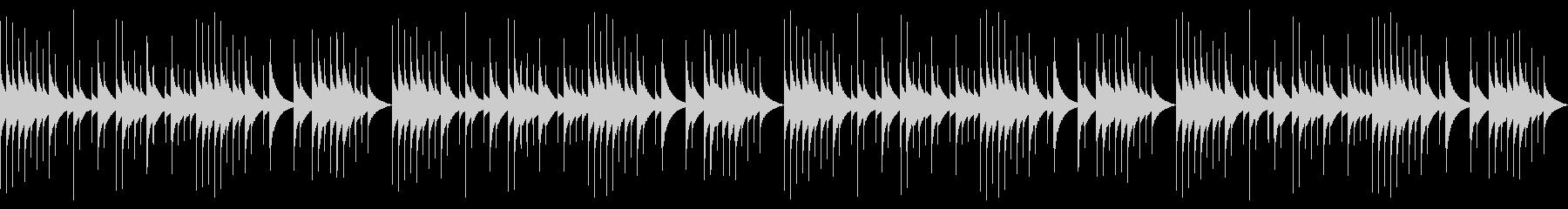 ループver オルゴール おやすみの未再生の波形