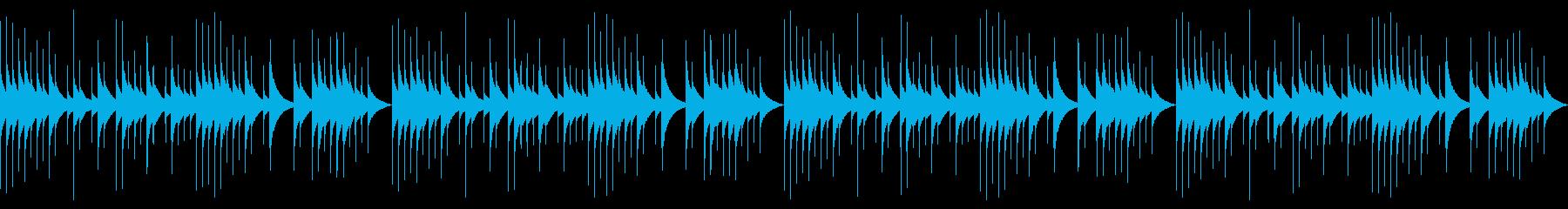 ループver オルゴール おやすみの再生済みの波形