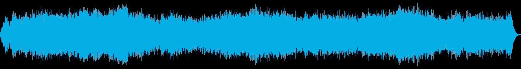 お化け屋敷で流れそうな感じの曲の再生済みの波形