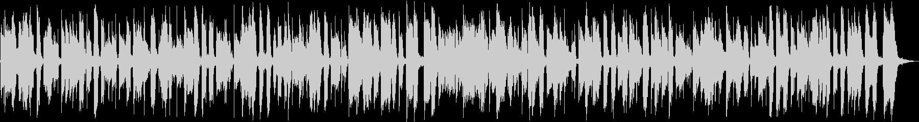 ボサノバ風のアコギインストの未再生の波形