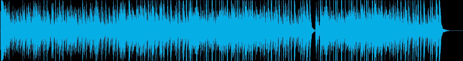 いたずらっぽく楽しいミディアムスイング1の再生済みの波形