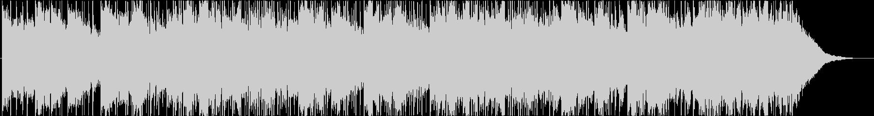エレクトロニック、チルアウト、ポップの未再生の波形