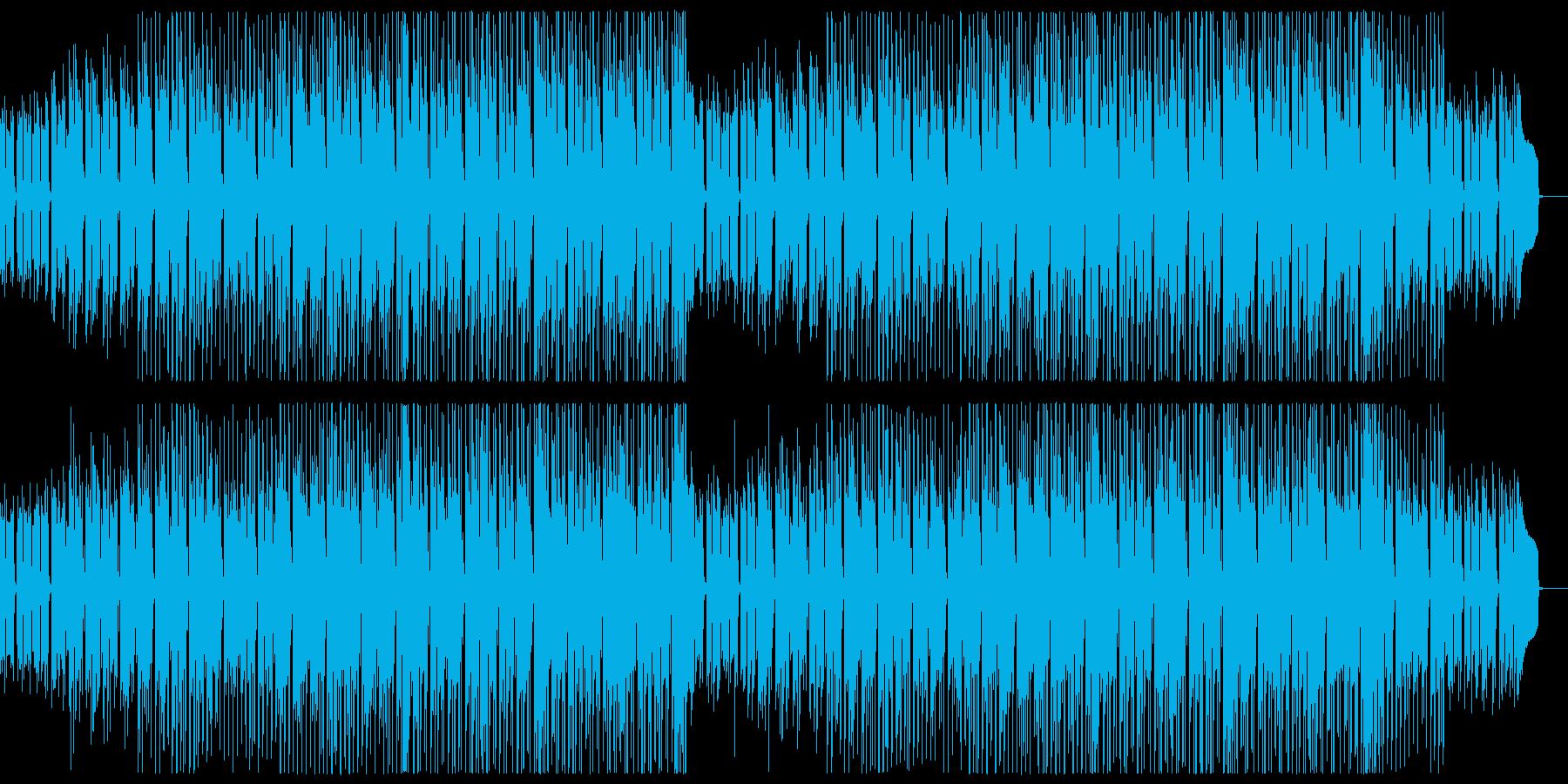 明るいアップテンポなギターポップ。の再生済みの波形