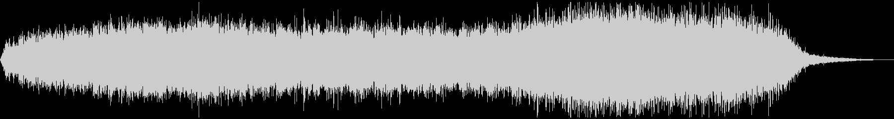 ローファイレトロ、不思議空間音楽の未再生の波形