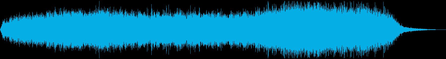 ローファイレトロ、不思議空間音楽の再生済みの波形