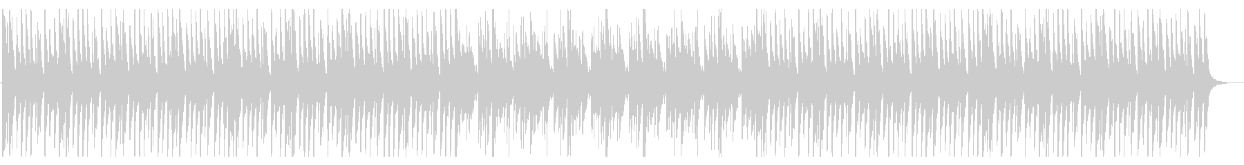 何かを探しているときに流れるBGMの未再生の波形