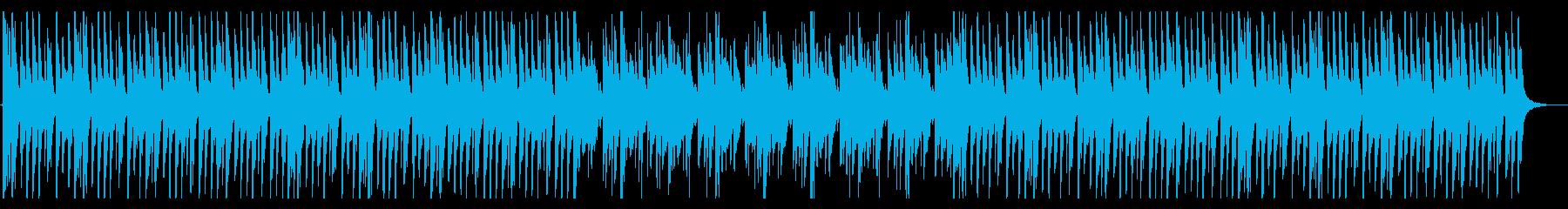何かを探しているときに流れるBGMの再生済みの波形