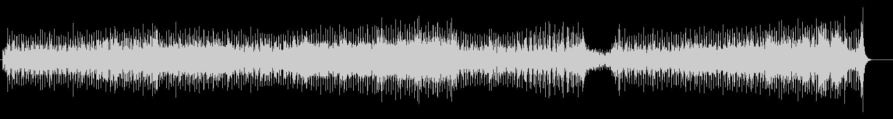ゆったりと揺れるようなポップ・チューンの未再生の波形